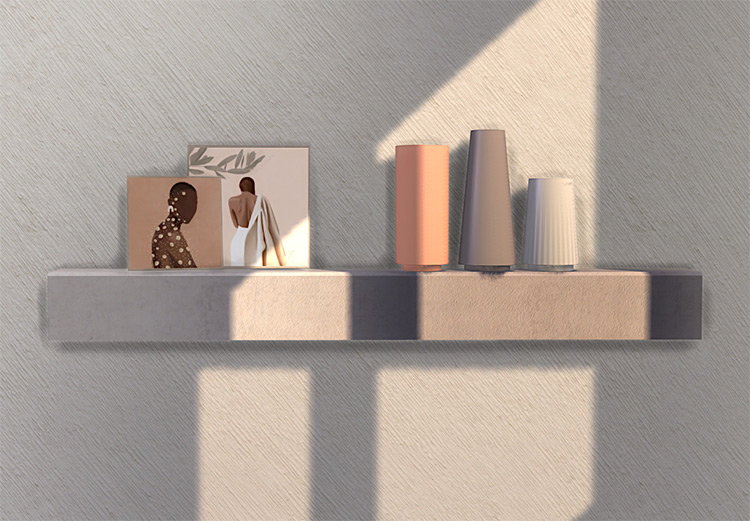 Paintings and Vases CC for Sims 4