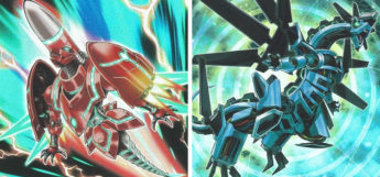 Rokket Tracer and Absorouter Dragon YGO