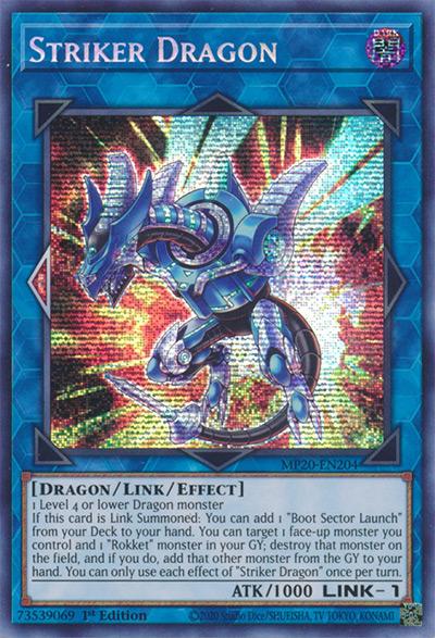 Striker Dragon YGO Card