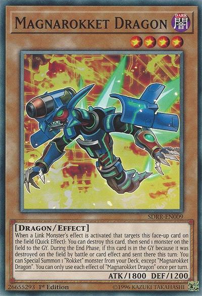 Magnarokket Dragon YGO Card