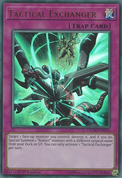 Tactical Exchanger Yu-Gi-Oh Card