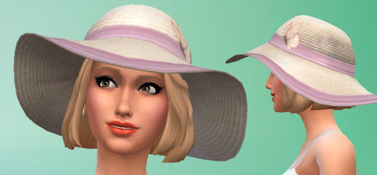 Free Sims 4 Sunhat CC: The Ultimate List