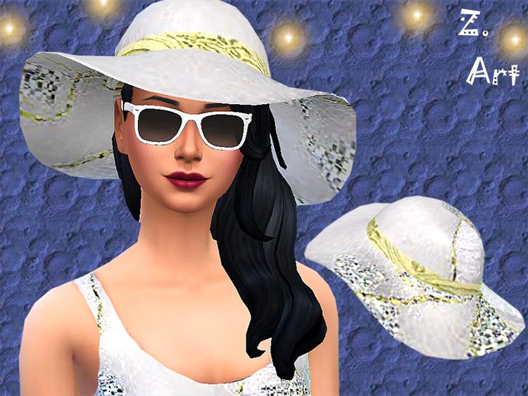 Sunhat Glam / Sims 4 CC