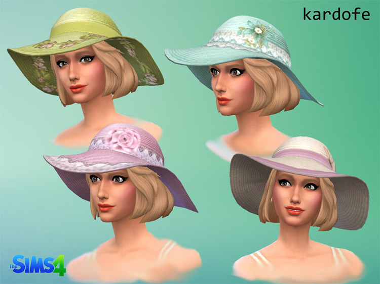 Sunhat Recolor for The Sims 4