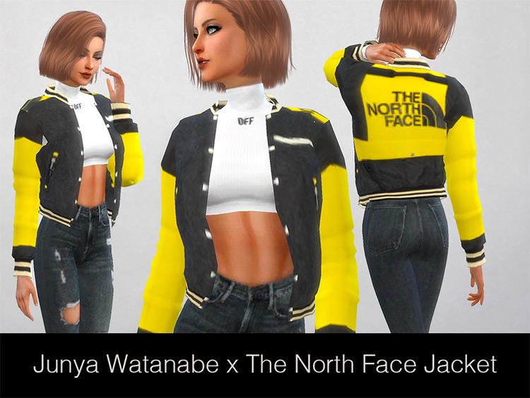 Junya Watanabe x The North Face Jacket Sims 4 CC