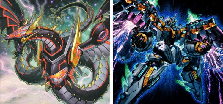 Cyber Dragon Infinity & Cyber Dragon YGO