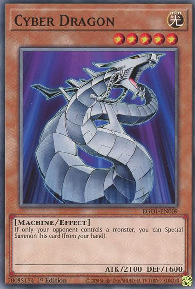 Cyber Dragon Yu-Gi-Oh Card