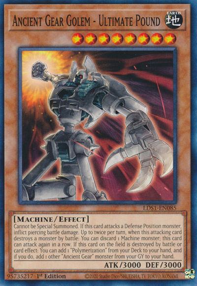 Ancient Gear Golem – Ultimate Pound YGO Card
