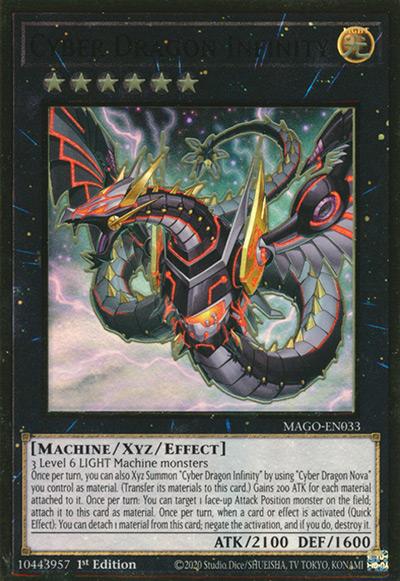 Cyber Dragon Infinity Yu-Gi-Oh Card