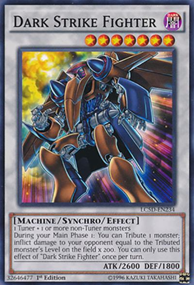 Dark Strike Fighter YGO Card