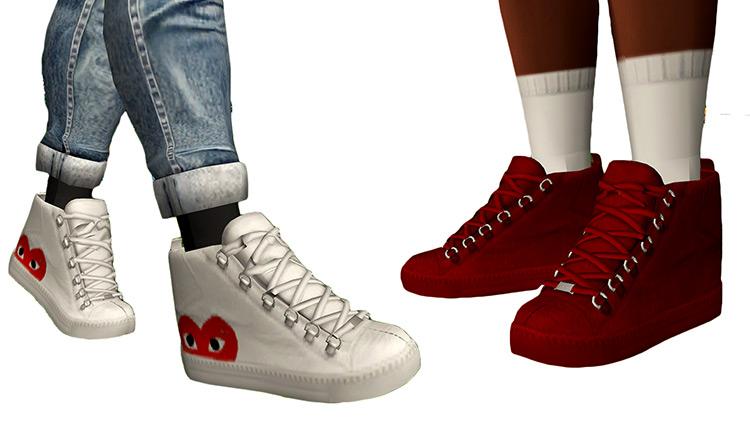Balenciagas Shoes for The Sims 4