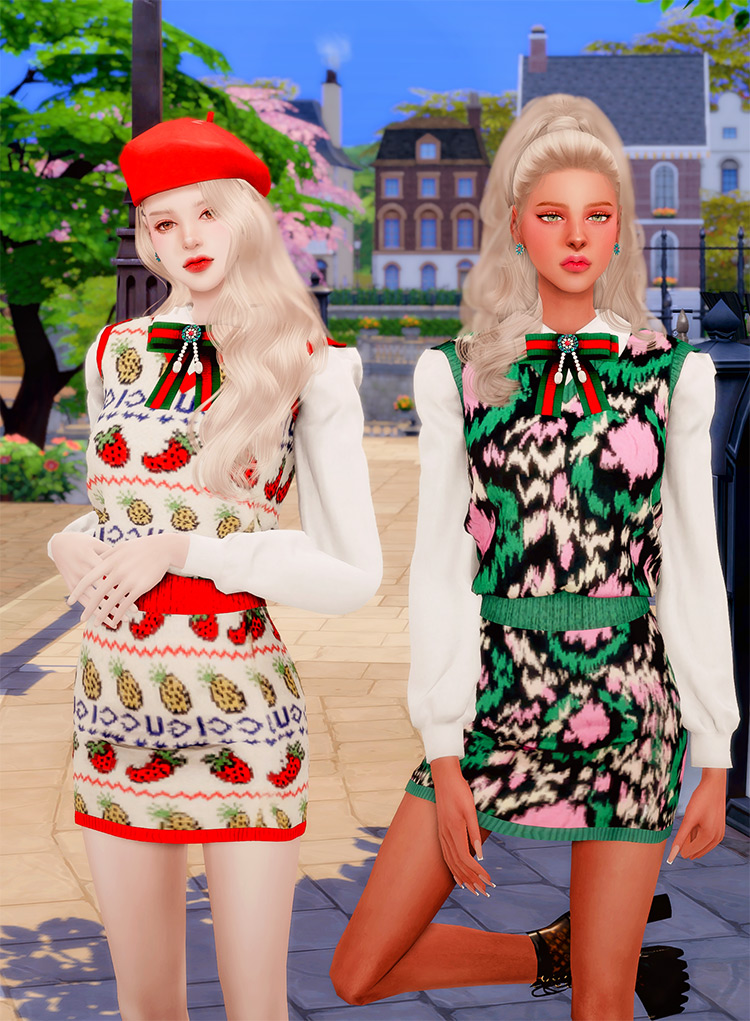 Gucci Collabo Set for The Sims 4