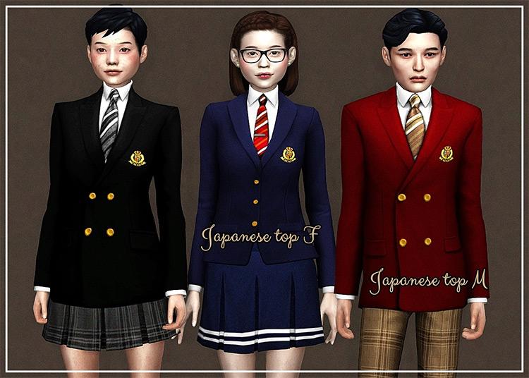 Back 2 School Set Sims 4 CC