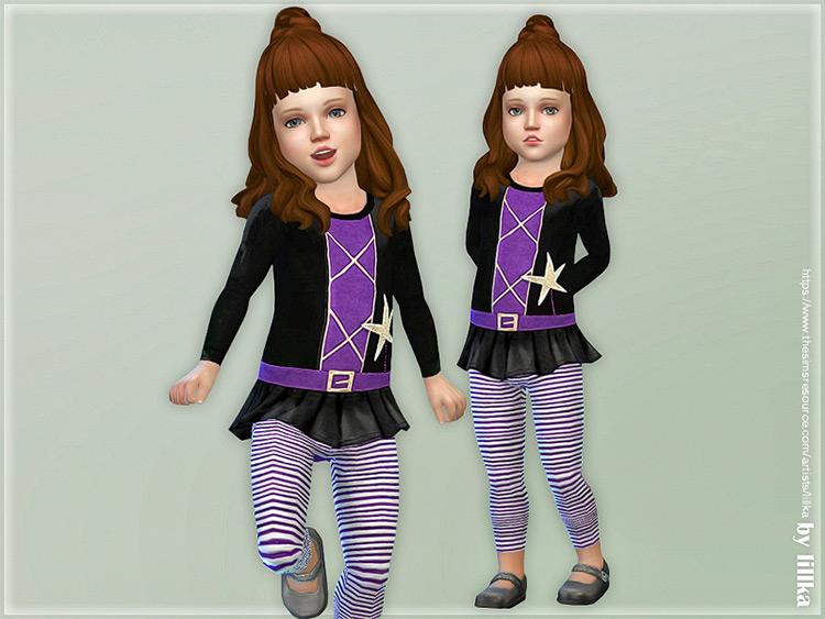 Toddler Halloween Onesie / Sims 4 CC