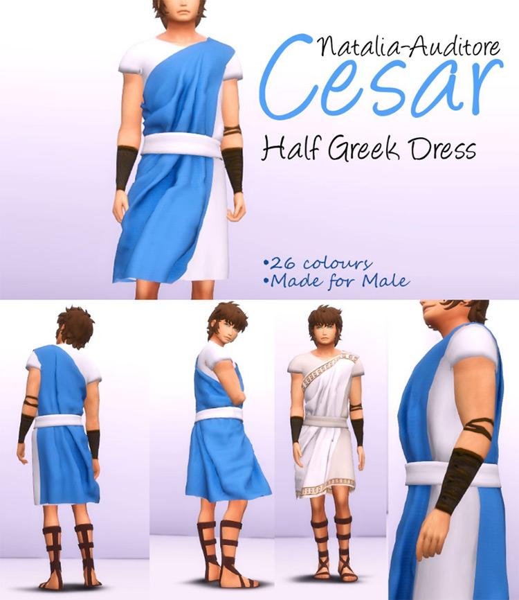 Greek Dresses Costumes / TS4 CC