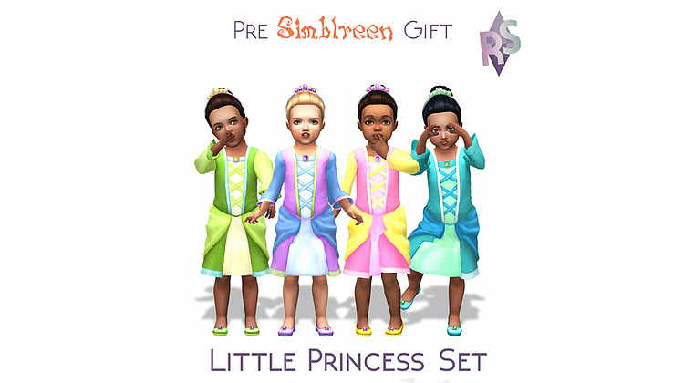 Little Princess Set / Sims 4 CC