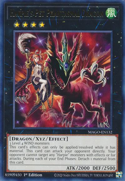 Harpie's Pet Phantasmal Dragon Yu-Gi-Oh Card