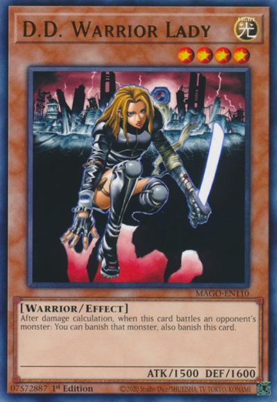 D.D. Warrior Lady Yu-Gi-Oh Card