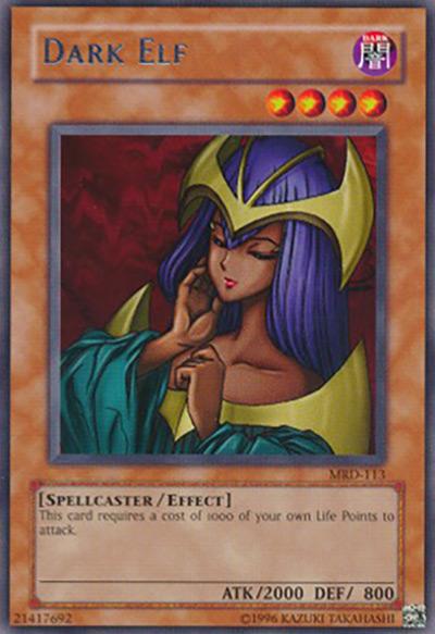 Dark Elf YGO Card