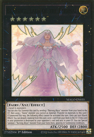 Beatrice, Lady of the Eternal Yu-Gi-Oh Card