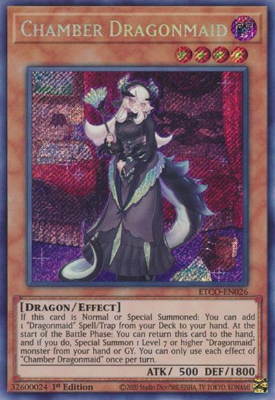 Chamber Dragonmaid YGO Card