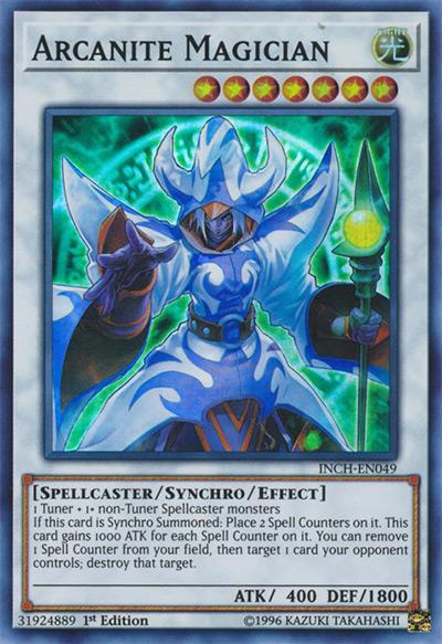 Arcanite Magician Yu-Gi-Oh Card