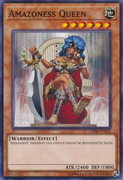 Amazoness Queen Yu-Gi-Oh Card