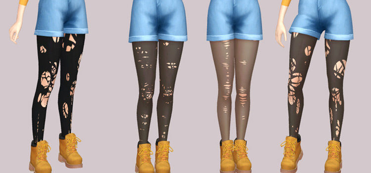 Best Tights & Leggings CC For The Sims 4 (All Free)