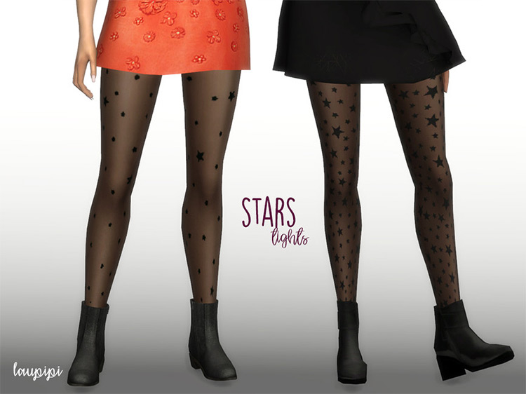 Stars Tights for The Sims 4