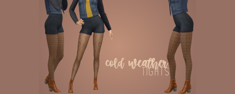 Cold Weather Tights / TS4 CC