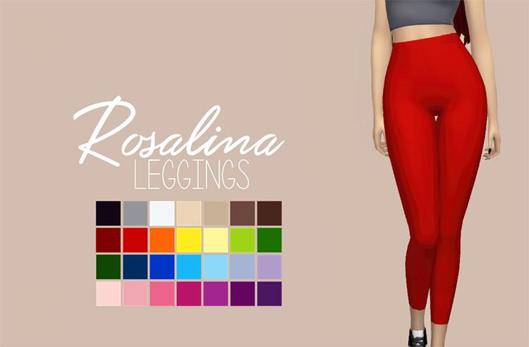 Rosalina Leggings / Sims 4 CC