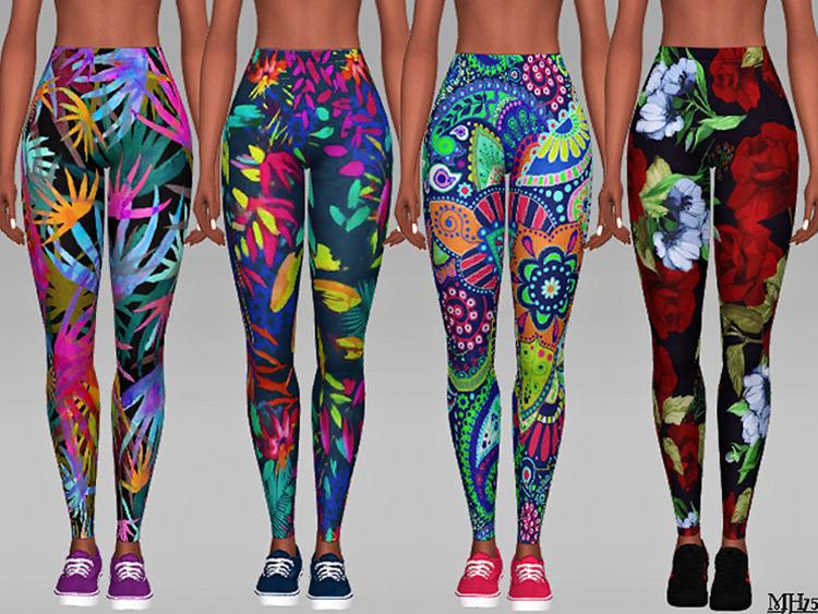 Aloha Leggings for The Sims 4