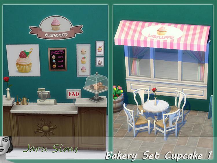 Bakery Set Cupcake #1 / Sims 4 CC