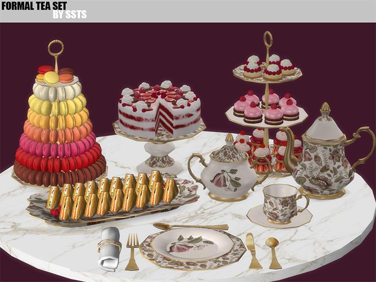 Formal Tea Set / TS4 CC