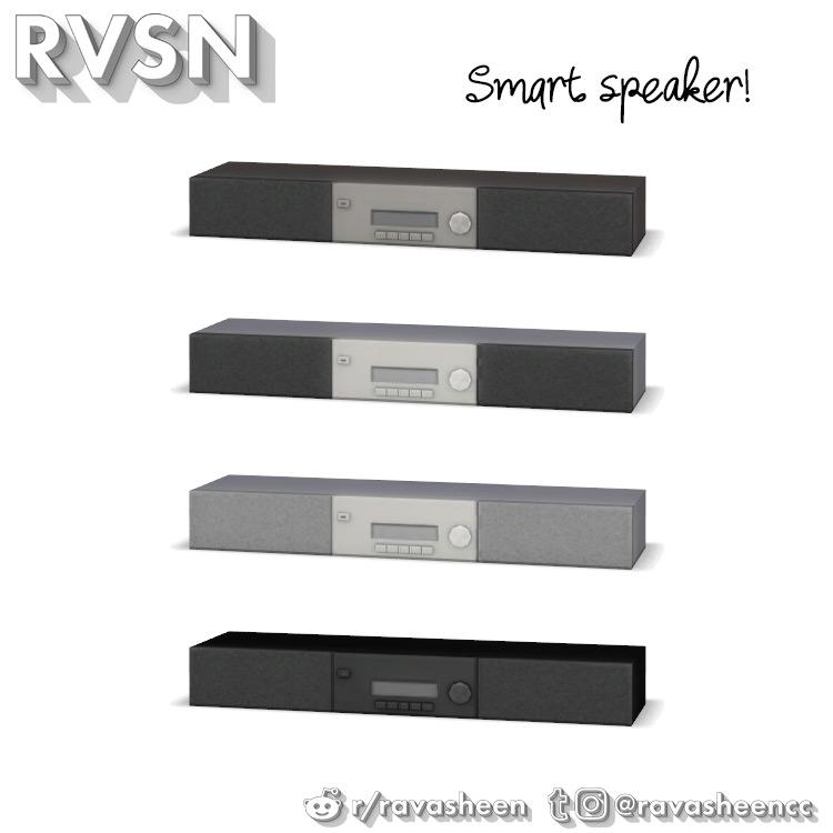 Motivational Smart Speaker / TS4 CC