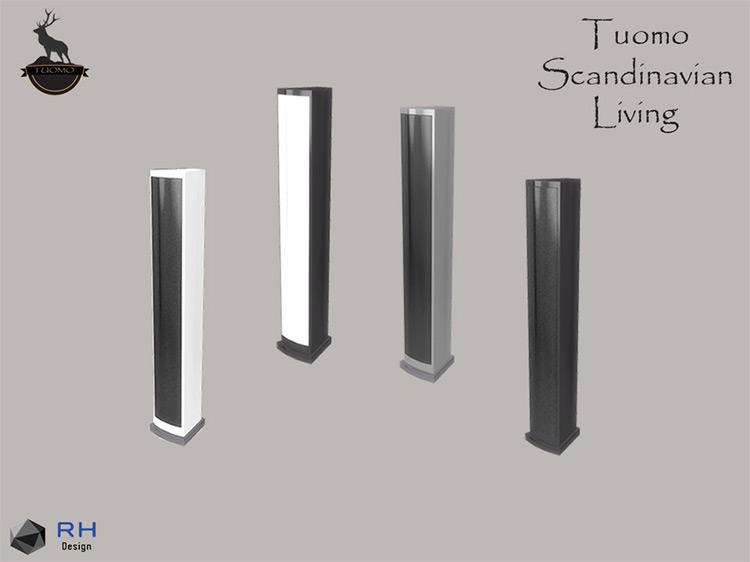 Tuomo Floorstanding Floor Speakers for The Sims 4