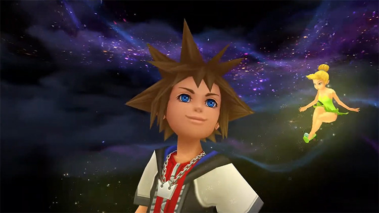 Tinker Bell Summon in KH 1.5 HD