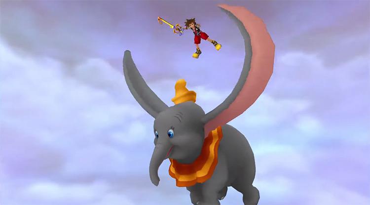 Dumbo in Kingdom Hearts I Summon