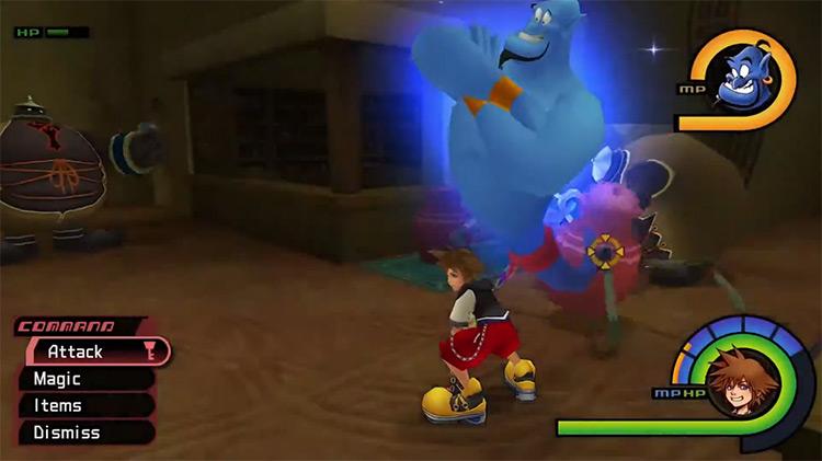 Genie in Kingdom Hearts I