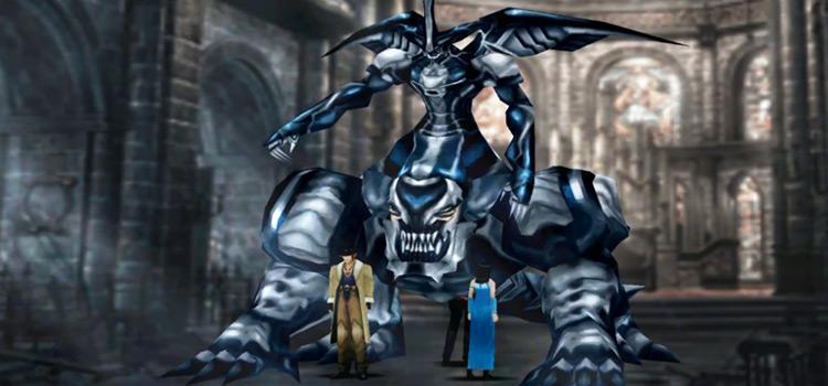 Omega Weapon Boss Battle in FFVIII