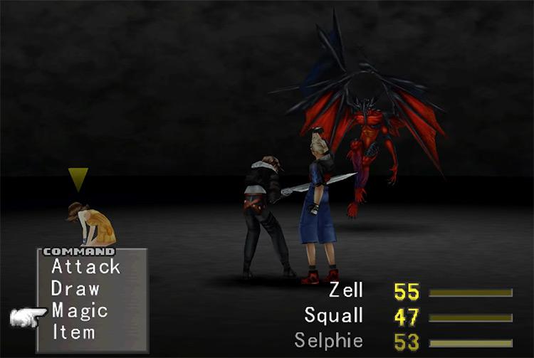 Diabolos boss in Final Fantasy 8