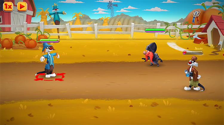 Looney Tunes World of Mayhem gameplay