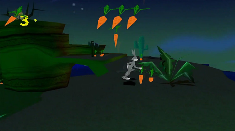 Bugs Bunny Lost in Time PSX screenshot