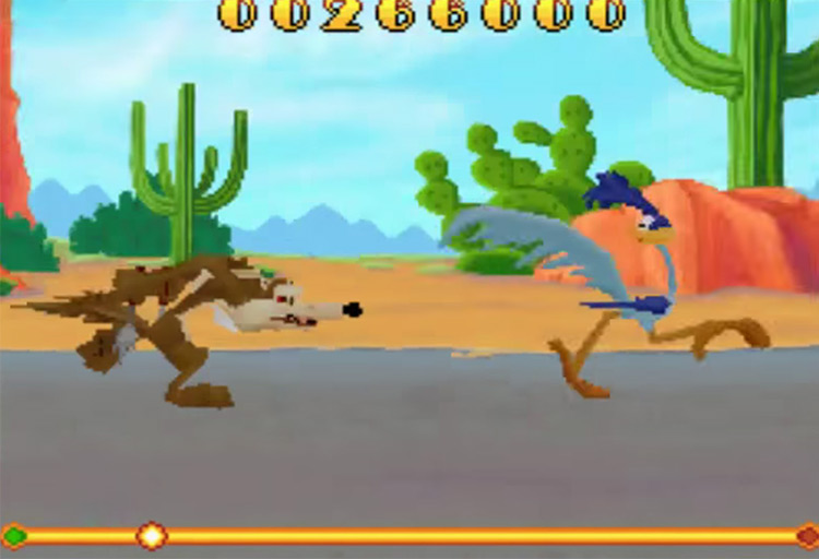Looney Tunes: Cartoon Conductor NDS game