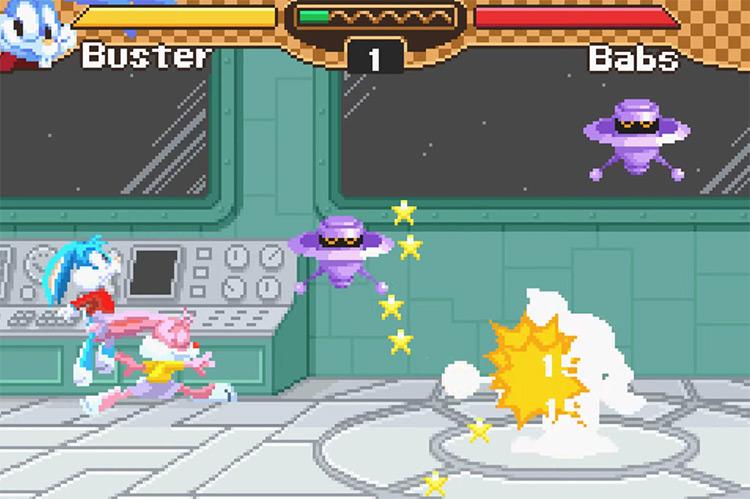 Tiny Toon Adventures: Buster's Bad Dream GBA screenshot