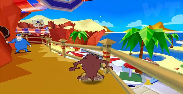 Taz: Wanted game screenshot