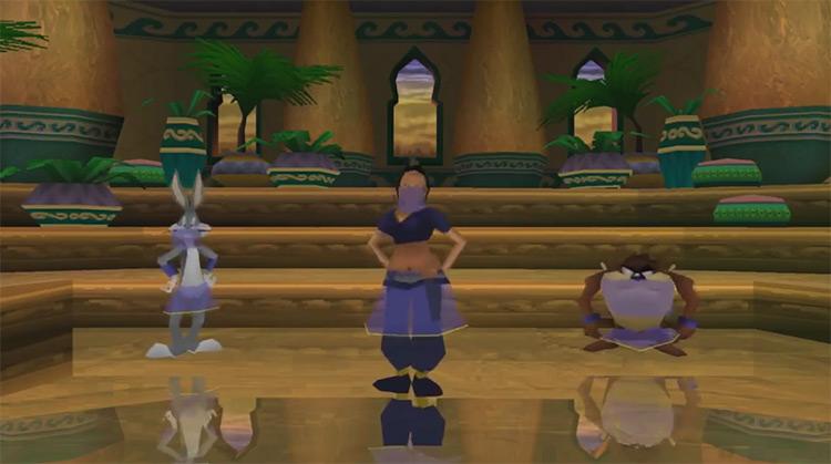 Bugs Bunny & Taz: Time Busters gameplay screenshot