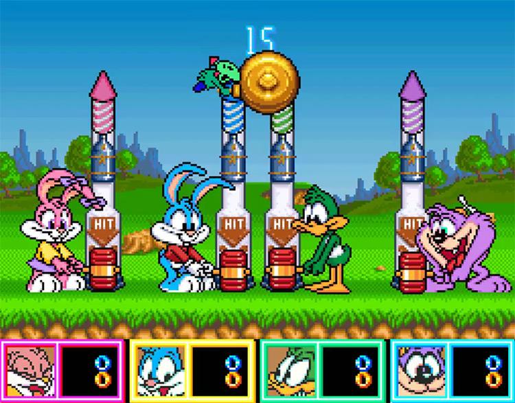 Tiny Toon Adventures: Wacky Sports Challenge game screenshot