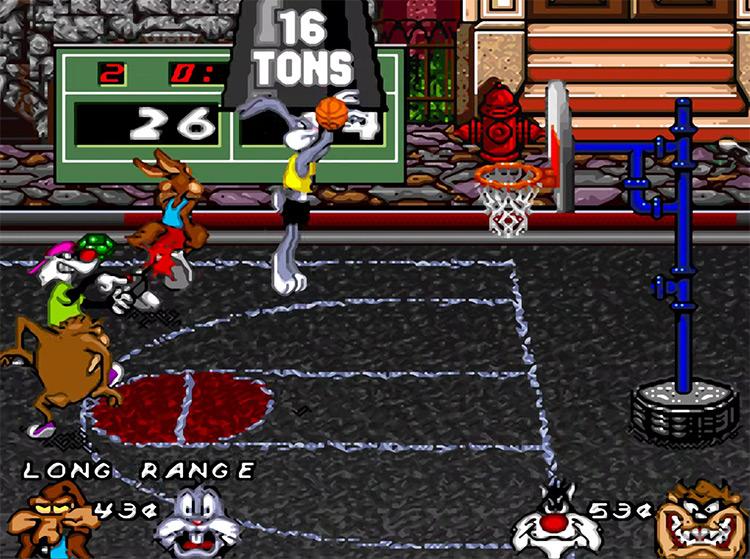 Looney Tunes B-Ball game screenshot