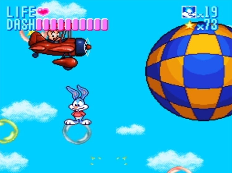 Tiny Toons Adventures: Buster Busts Loose! on SNES